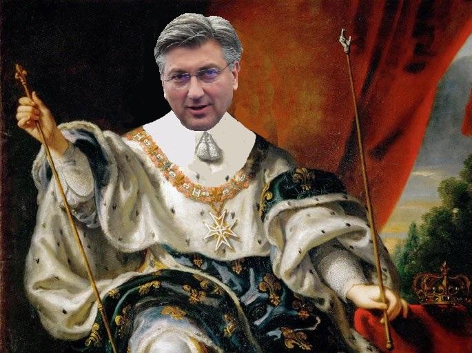 DRAGOVOLJAC - Treba li doista Plenković postati ovdašnji Louis XIV.?
